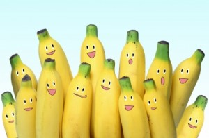 bananas sorrindo