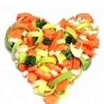 coração vegano
