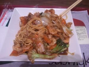 almoço chinês