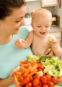 bebe vegetariano