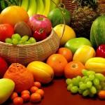 Frutas, legumes e verduras na Primavera
