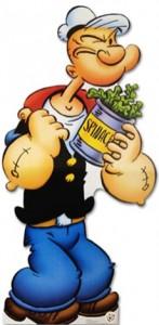 Popeye espinafre