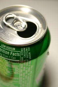 refrigerante com refeições